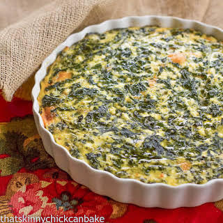 Spinach Souffle.