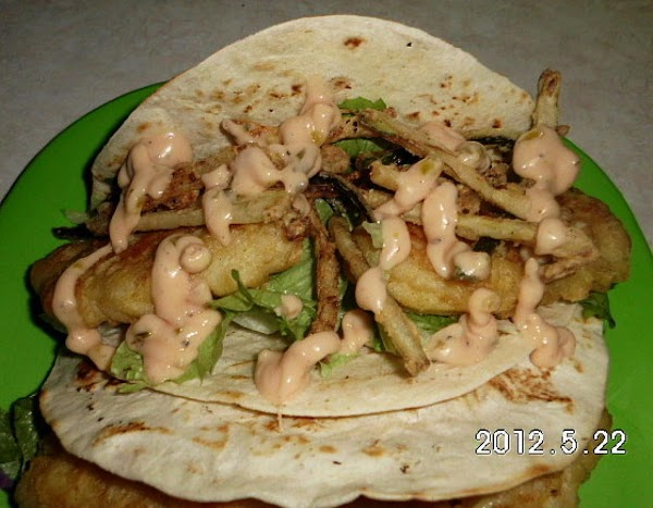 Fish Taco's Recipe
