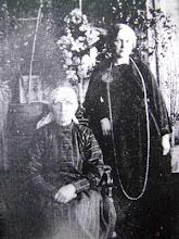 Photo: Šleinienė-Etzoldaitė Emilija su dukterimi Šleiniūte-Balsiene Aleksandra. Nuotrauka ~1912 m. iš L.Šleiniaus anūko Prano Balsio asmeninio archyvo.