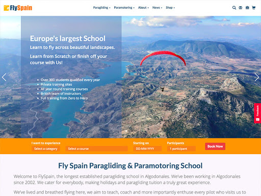 Fly Spain Paragliding School