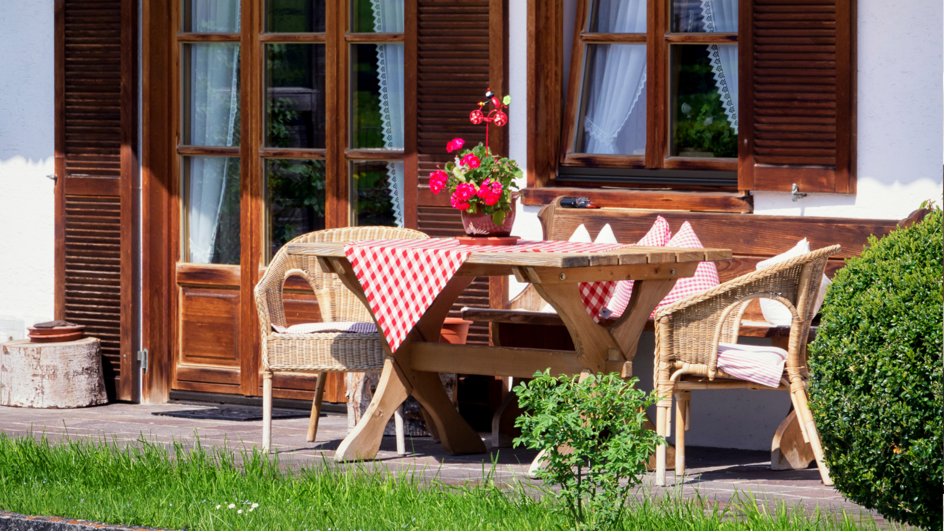 maintaining a clean outdoor space