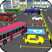 Tourist Bus Parking Game : Parking 3D Bus Games