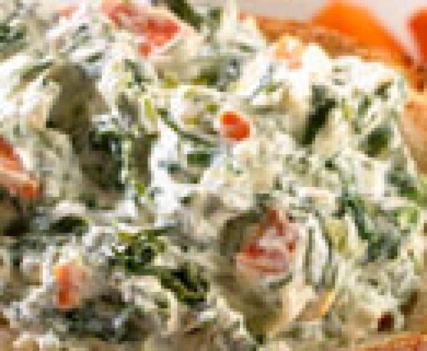 The Kid's Favorite Spinach Dip Recipe