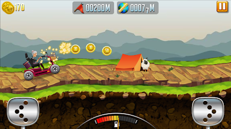 Angry Granny: Racing Car APK screenshot thumbnail 2