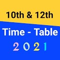 10th & 12th Time Table 2021 - 10th/12th Date Sheet icon