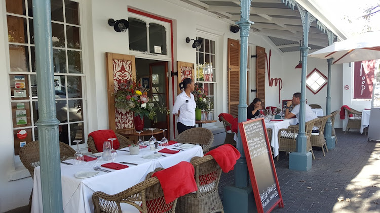 Noop in Paarl is perfect for a casual lunch or a celebration dinner.