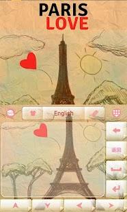 Paris-Love-GO-Keyboard 2