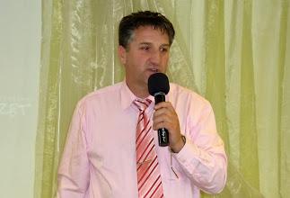Photo: Weller István, a 2012. április 22-i istentisztelet házigazdája