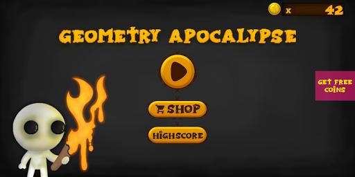 Geometry Apocalypse: Circle, Square Zombie shooter 0.1 screenshots 1