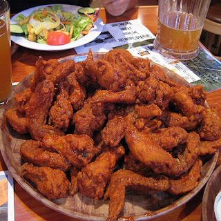 Hooters Buffalo Chicken Wings.