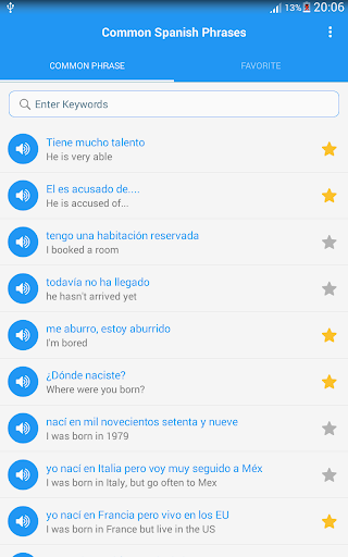 Common Spanish phrases - Awabe