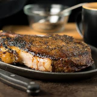 Coffee Crusted Steak Rub.