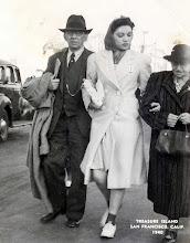Photo: Isidor Heyman, Gloria Metzner, Ernestine Bernstein Heyman