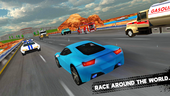 beat the traffic nitro racer challenges apps on google play. Black Bedroom Furniture Sets. Home Design Ideas