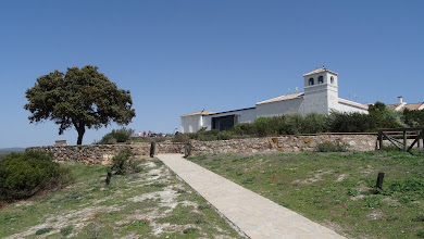 Photo: Visitor centre with shady picnic site