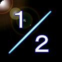 Cut in Half icon