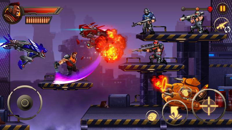 Metal Squad: Shooting Game Screenshot 2