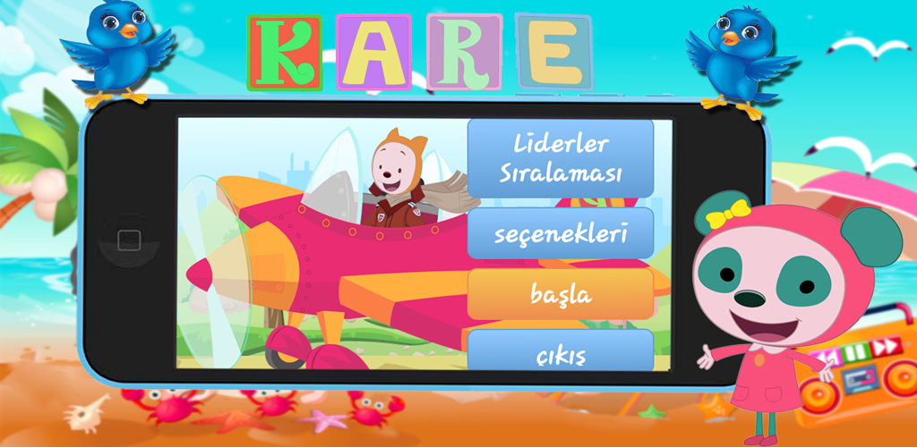 Kare Ve Elifin Ucak Oyunu 2 0 Apk Download Com Dev Kare Apk Free