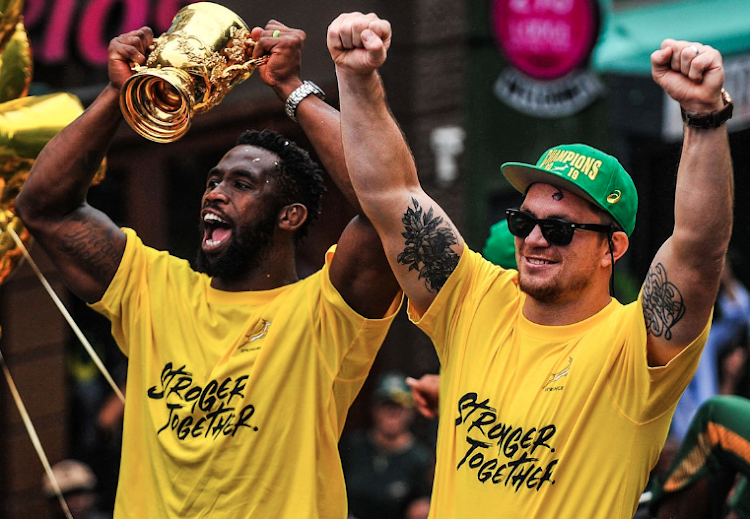 Springbok captain Siya Kolisi has thanked South Africans for the overwhelming support received during the team's victory tour with the Webb Ellis Cup.