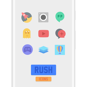 RUSH Icon Pack 1.1 [Premium Unlocked] Cracked Apk 2