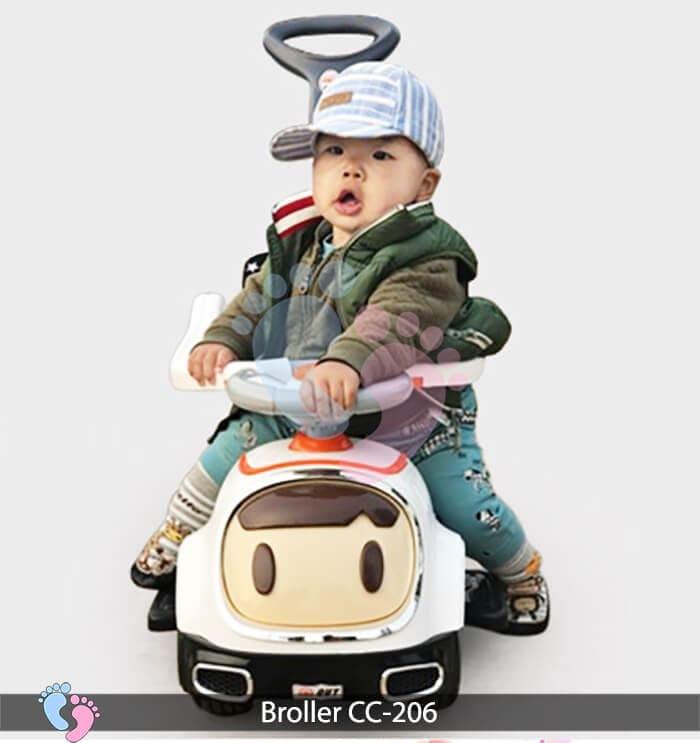 Xe chòi chân trẻ em Broller CC 206 4