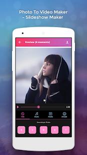 Photo To Video Maker - Slide Show Maker - náhled
