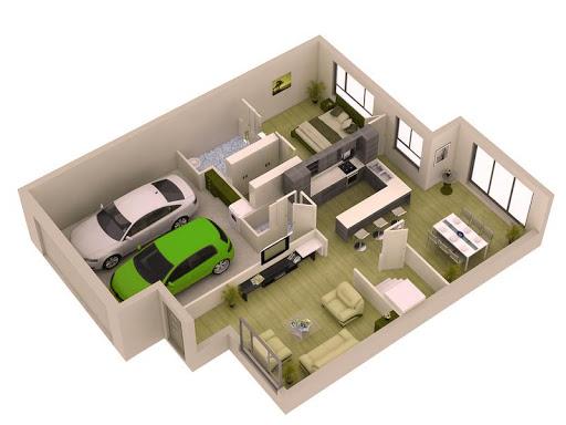 3D家庭計劃的想法