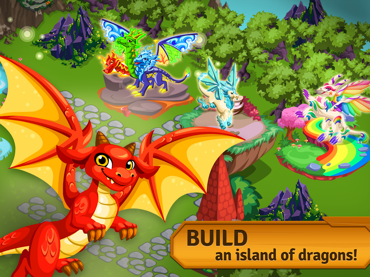 Dragon Story: Isles of Love- screenshot