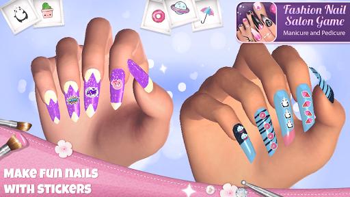 Fashion Nail Salon Game: Manicure and Pedicure App 1.1.1 screenshots 5