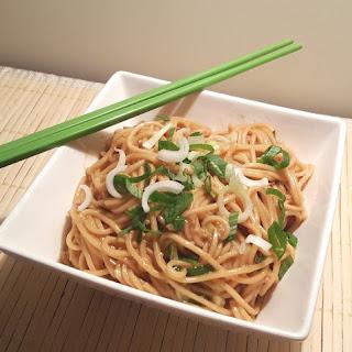 Pressure Cooker Sesame Noodles.