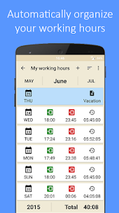Working Hours- screenshot thumbnail