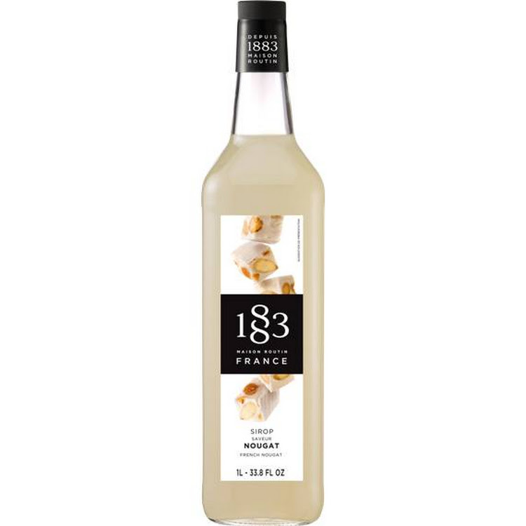 1883 FRENCH NOUGAT SYRUP 1L