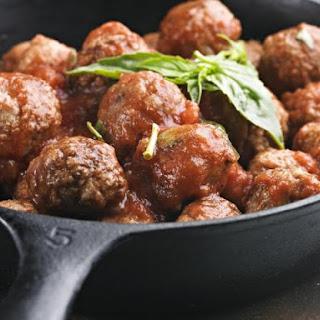 Gluten-Free Italian Turkey Meatballs