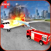 تحطم طائرة محاكاة الاطفاء 3D