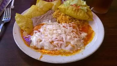 Photo: Caro's Restaurant - Rio Grande City - great puffy taco!