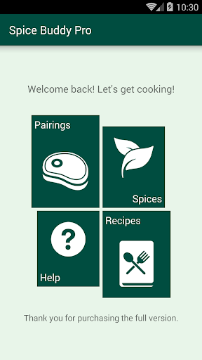 Spice Buddy Pro - Cooking App