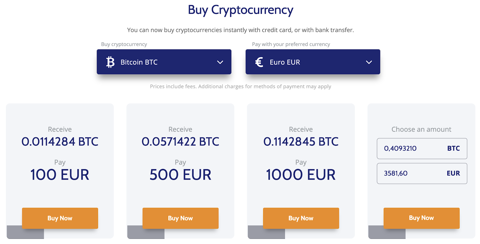 Coinmama screenshot buying cryptos easily
