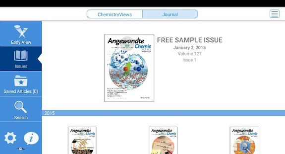 Angewandte Chemie- screenshot thumbnail
