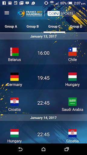 France 2017 Handball WC Live screenshot 6