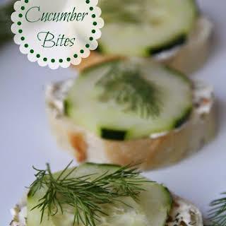 Cucumber Bites.
