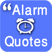 Inspirational Quotes with Alarm Clock