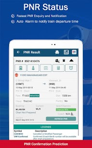 Live Train IRCTC Enquiry PNR Status Indian Railway App Latest Version Download For Android and iPhone 10