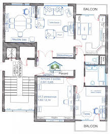 Appartement 4 pièces 86,87 m2