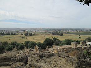 Photo: A view from the top of Medina Azahara.