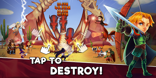 Taps Dragons - Clicker Heroes (Mod)
