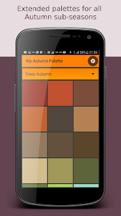 My Autumn Palette - náhled
