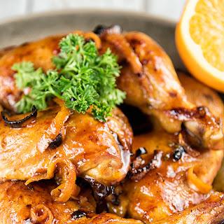 Orange and Thyme Chicken