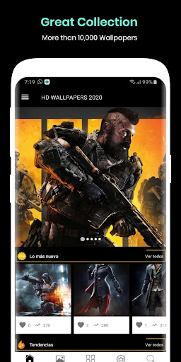 HD Wallpapers 2020: 4k Backgrounds android2mod screenshots 1