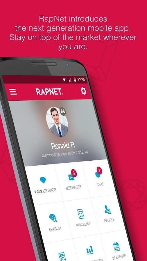 RapNet, The Diamond Market- screenshot