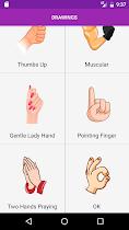 Draw Hands Step By Step - screenshot thumbnail 02